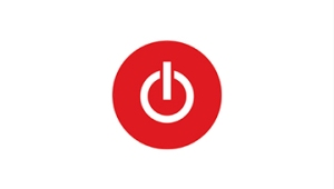 Toggle logo—a red circle with a white power button symbol inside, which is a circle with a line going from the center to outside the circle
