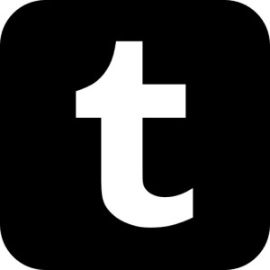 Tumbler logo—a dark blue square with a white small t inside