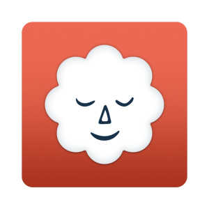 Stop, Breathe, & Think logo—a red, rounded square with a white cloud inside; this cloud has a face, whose eyes are closed